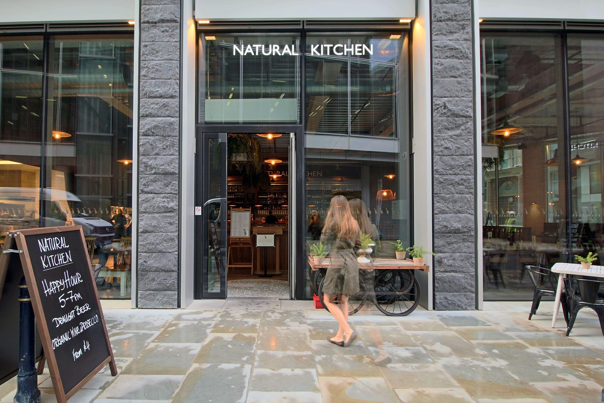 Natural Kitchen - Angel Court London 01
