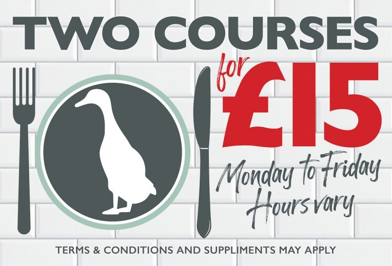 Two courses deal